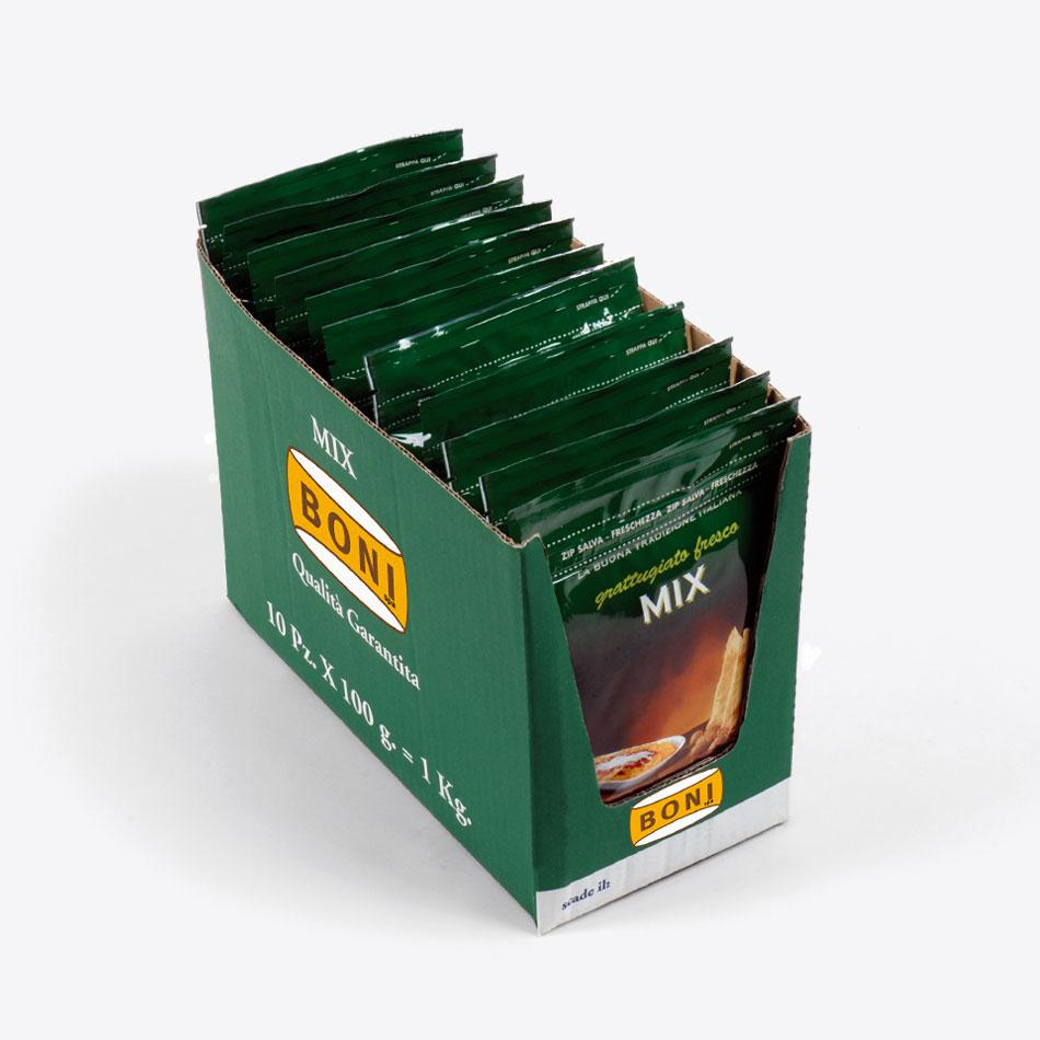 MIX Grattugiato BONI - Espositore per buste 100 gr