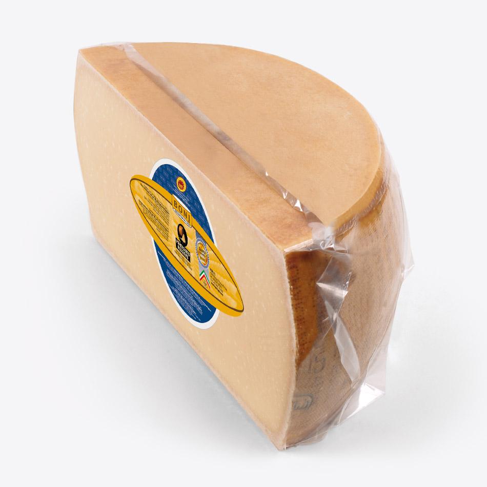 Parmigiano Reggiano BONI in spicchi - 1/2 forma verticale