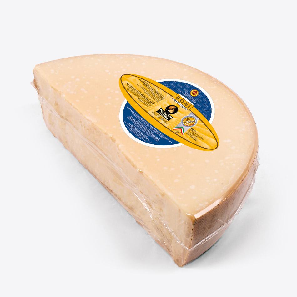 Parmigiano Reggiano BONI in spicchi - 1/4° di forma